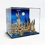 Acryl-Vitrine für LEGO Harry Potter Schloss Hogwarts 71043, Bausatz-Vitrinen für Lego 71043, Sammlerstücke, Schaubox, Aufbewahrungs-Geschenke