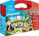 Playmobil 70105 City Life Panda Hausmeister-Tragetasche, groß, 21 x 5,5 x 16,3 cm, Mehrfarbig