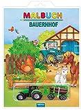 Malbuch 'Bauernhof': mit 2 Spielzeugen (Malbücher mit ..., Band 1)