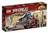 Lego Ninjago LEGONINJAGO 70667 Kais Feuer-Bike & Zanes Schneemobil