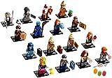 Serie 2 Lego® 71028 Harry Potter™ Minifiguren alle 16 Verschiedene Figurn zusätzlich 1 x Sticker-und-co Fruchtmix Bonbon