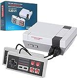 KINMRIS Retro Spielekonsole, 620 in 1 Classic Retro-Videospiel Konsole AV-Ausgang Mini-Konsole mit 2 Controllern, Handheld Spielekonsole, Plug-and-Play-Videospiele, Erinnerungsgeschenk für Kinder