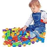 Kinder-Bausteine, DIY-Spielzeug, klassische große Bautasche, 250 Stück, frühes Lernspielzeug für Kinder, eine Menge Spiel, pädagogisches Spielzeug für Jungen und Mädchen, Kleinkinder
