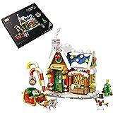 Weihnachten Modell Bauset, Weihnachten Street View-Serie Weihnachtshaus Baukasten, Weihnachten Bauset Kompatibel mit Lego(788 Teilel)