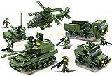 Sluban SL95137, Landstreitkräfte Set II (996 Teile) [M38-B0311], Spielset , Klemmbausteine, Soldaten, mit Spielfigur, Army