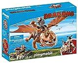 PLAYMOBIL 9460 - DreamWorks Dragons, Fischbein und Fleischklops, Ab 4 Jahren