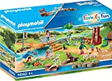 PLAYMOBIL Family Fun 70342 Erlebnis-Streichelzoo, Ab 4 Jahren