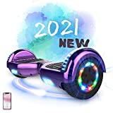 MARKBOARD Hoverboards, Self Balancing Scooter 6.5' Elektro Scooter Hover Scooter Board Skateboard - Eingebaute Bluetooth Lautsprecher