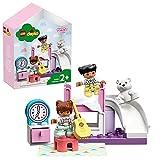 LEGO 10926 DUPLO Kinderzimmer-Spielbox, Lernspielzeug, Puppenhaus mit großen Bausteinen, Spielzeug für Kleinkinder ab 2 Jahre