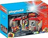 PLAYMOBIL City Action 5663 Mitnehm-Feuerwehrstation, Ab 4 Jahren