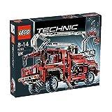 Lego Technic 8289 - roter Feuerwehr Truck