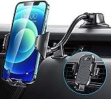 VANMASS Handyhalterung Auto mit flexiblem Schwanenhalsarm 2021 aktuelle Version 3 in 1 Kfz Handyhalterung Lüftung & Saugnapf Halter 100% Silikonschutz Handyhalter Auto für iPhone Samsung Huawei LG usw