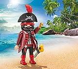 Playmobil – 9883 – Piraten – Kapitän der Piraten – in Kunststoffverpackung – keine blaue Kartonschachtel