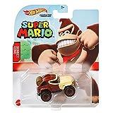 Hot Wheels Super Mario - GRM37 - Auto / Fahrzeug aus Metall 1/64 - Donkey Kong