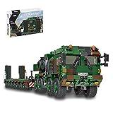 Mocdiy Technik Militär-Panzer Bausteine,1912 Teile Panzerträger Bausatz Spielzeug,LKW Auto Modell Klemmbausteine,Kompatibel mit Lego Technic