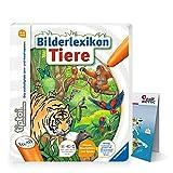 Ravensburger tiptoi ® Buch | Bilderlexikon Tiere + Kinder Tier-Weltkarte - Länder, Tiere, Kontinente