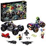 LEGO 76159 Super Heroes DC Batman Jokers Trike-Verfolgungsjagd mit Batmobile, Harley Quinn & Robin Minifiguren