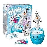 TOMY T73038 Pop Up Olaf Kinder Brettspiel, Familien- und Vorschulkinderspiel, Action-Spiel für Kinder zwischen 4 - 8 Jahren, für Jungen und Mädchen