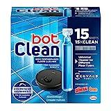 botClean Bodenreiniger Flüssigkeit für Saugroboter mit Wischfunktion (15 x 18 ml), leistungsstarkes Reinigungsmittel für hygienische Sauberkeit, Glanz und Duft
