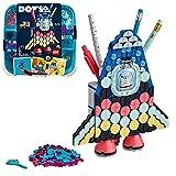 LEGO 41936 DOTS Raketen Stiftehalter Bastelset für Kinder, Kinderzimmer-Deko, Kreativset für Mädchen und Jungen