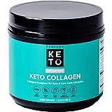 Perfect Keto – Keto Collagen - Geschmacksneutral, 340g Pulver   mit grassfeed Kollagen und MCT Pulver   Keto Pulver ohne Zucker   perfekt für Deine Keto Diät und Low Carb Ernährung
