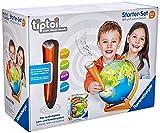 Ravensburger Exklusives Tiptoi Starter-Set 00068: Stift und Junior-Globus-Lernsystem für Kinder ab 4 Jahren [Exklusiv bei Amazon]