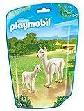 PLAYMOBIL Family Fun 6647 Alpaka mit Baby, Ab 4 Jahren