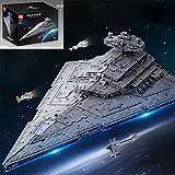 Gedar Technik Baustein Imperial Sternenzerstörer Bausatz, Wing Fighter UCS Kollektion Series, Star Wars Imperium Sets, 11885 Klemmbausteine Kompatibel mit Lego