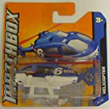 Matchbox Autos - 6 News Helicopter in Blau