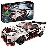 Lego 76896 Speed Champions Nissan GT-R NISMO Rennwagenspielzeug mit Rennfahrer Minifigur, Rennfahrzeuge Bausets
