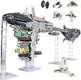 Nebulon-B Fregatte Großes MOC Bauset, 6388 Teile Escort Fregatte Raumschiff Großes MOC Klemmsteine Set Kompatibel mit Lego