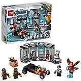 LEGO 76167 Super Heroes Marvel Avengers Iron Mans Arsenal Set, Erweiterungsset