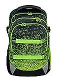 neoxx Active Schulrucksack Pixel in My Mind - Rucksack für die Schule, ergonomischer Schulranzen aus recycelten PET-Flaschen, Schultasche für Mädchen und Jungen