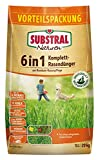 Substral Naturen 6in1 Komplett Rasendünger, Sofort und Langzeitwirkung, Ganzjahres-Rasenpflege, Extra Kalk und Kalium, 20 kg für 270 m²