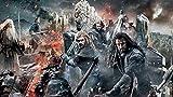 LIANXI Puzzle 1000 Teile Erwachsene-XXL-The Hobbit: The Battle of The Five Armies DIY - Puzzle Kreative Erwachsene,Legespiel Puzzle,Puzzle Pädagogisches,Puzzle Stressfreisetzung Spielzeug 30 * 20Zoll