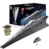 Hedi Technik Zerstörer Bauset , Mould King Sternenzerstörer 13134 , Super Star Destroyer UCS Klemmbausteine Kompatibel mit Lego Star Wars