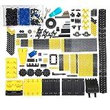 Bybo Technik Ersatzteile Set, Technik Teile Radbalken Pin, Klemmbausteine Technik Ersatzteile, Technik Steine Einzelteile, Technic Zahnräder Set Kompatibel mit Lego Technic