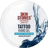 SKIN STORIES Tattoo Hydro Gel (75 ml), kühlendes Tattoo Gel für strahlende Tattoofarben, feuchtigkeitsspendendes Aloe Vera Gelfür beanspruchte Haut