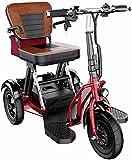 CYGGL Electric Electric Electric Roller E-Scooter E Kick-Roller-Roller-Folding-Urban Scooter-Kick-Roller für Alten Mann und Behinderte 8A/30KM