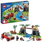 LEGO 60301 City Wildlife Tierrettungs-Geländewagen Spielzeugauto, Spielzeug ab 4 Jahre, Geländewagen