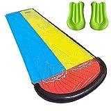 Rasen Wasserrutschen Wasserrutsche Kinder Garten Spaß Wassersprühspielzeug Reißfester Wasserrutschmatte Im Freien für Kinder Jungen Mädchen Kinder Lawn Garden