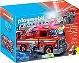 PLAYMOBIL Rescue Ladder Unit Feuerwehr Wagen mit Leiter US