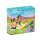 PLAYMOBIL DreamWorks Spirit Riding Free 70122 RU mit Pferd und Fohlen, ab 4 Jahren