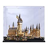 LODIY Vitrine Schaukasten für Lego 71043 Harry Potter Schloss Hogwarts - Acryl Vitrine Display Case (Nicht Enthalten Lego Modell) (2mm)