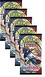 Pokemon Schwert & Schild - Serie 1 - 5 Booster - Deutsch (5 Booster)