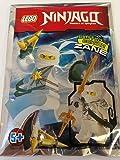 Blue Ocean LEGO Ninjago Zane #1 Minifigur Folienpaket Set 891507 (Beutel)