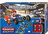 Carrera 20062492 GO!!! Nintendo Mario Kart Mach 8 Rennstrecken-Set | 5,3m elektrische Carrerabahn mit Mario & Luigi Spielzeugautos | mit 2 Handreglern & Streckenteilen | für Kinder ab 6 Jahren