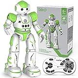 Pickwoo RC Roboter Spielzeug Kinder ab 5 6 7 8 9-12 Jahre, Ferngesteuertes Intelligente Roboter Kinder Spielzeug mit Gestensteuerung, LED Licht und Musik, Geschenk für Kinder Jungen Mädchen (Grün)