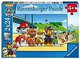 Ravensburger Kinderpuzzle - 09064 Heldenhafte Hunde - Puzzle für Kinder ab 4 Jahren, Paw Patrol Puzzle mit 2x24 Teilen