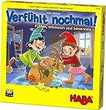 HABA 304508 – Verfühlt nochmal!, Fühlspiel für Kinder ab 3 Jahren, Lernspiel mit Holzteilen schult spielerisch die Feinmotorik, Neuauflage des Lernspiel-Klassikers